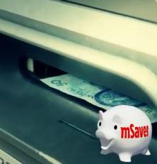 Reklama mSavera od mBanku