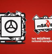 Pierwsza reklama mSavera